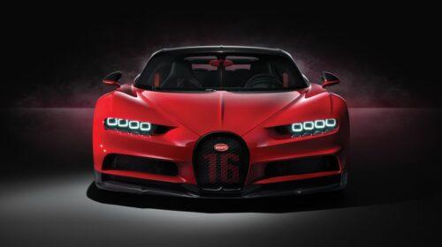 Bugatti Chiron Sport-2018 Geneva Motor Show-1