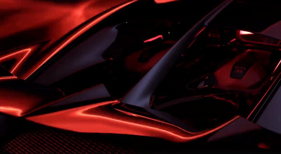 Bugatti Chiron Sport teaser-2