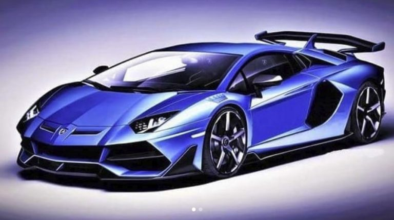 Is This The New Lamborghini Aventador Svj The Supercar Blog