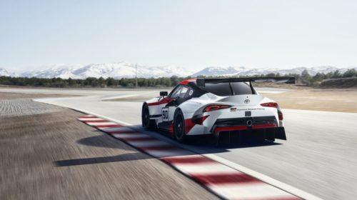 Toyota Gazoo Racing Supra Concept-2018 Geneva Motor Show-7