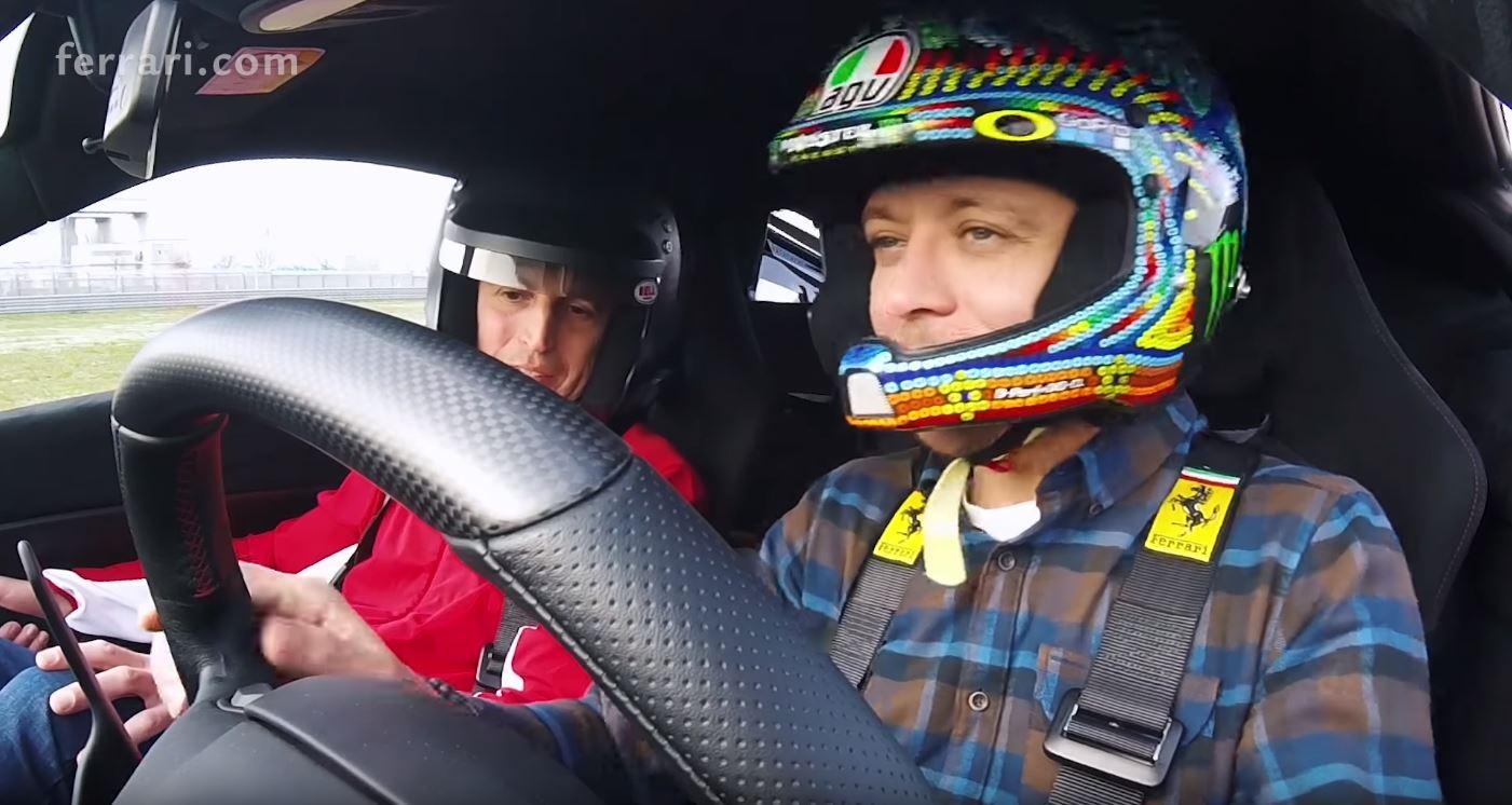 Valentino Rossi-Ferrari 488 Pista