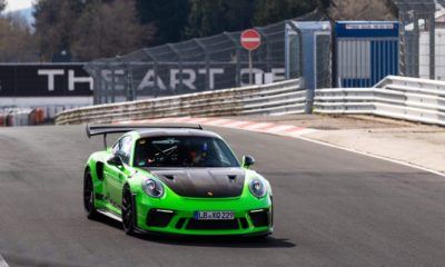 2018 Porsche 911 GT3 RS-Nurburgring lap record