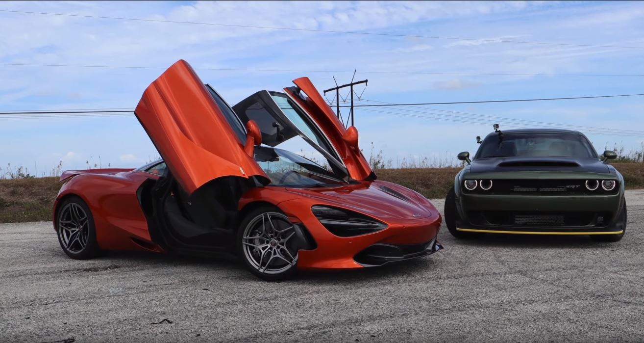 720S vs Demon-Dragtimes