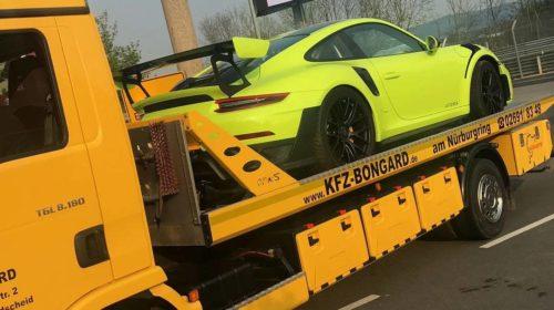 Porsche 911 GT2 RS Nurburgring-crash-2