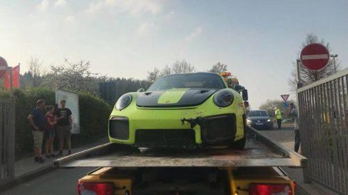 Porsche 911 GT2 RS Nurburgring-crash-4
