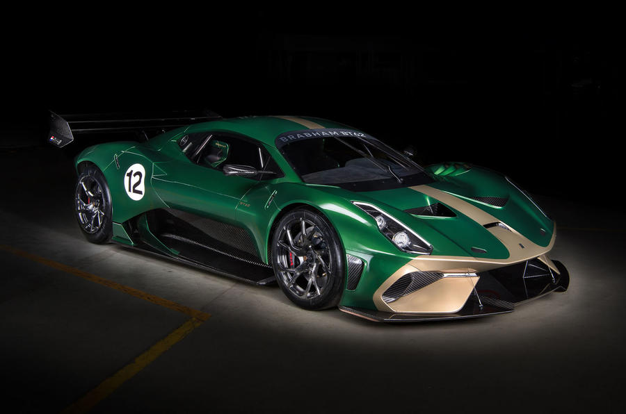 Brabham BT62 Front Quarter View