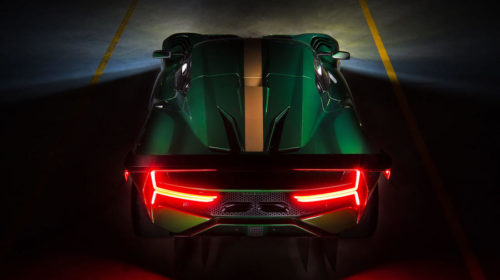 Brabham BT62 Rear View