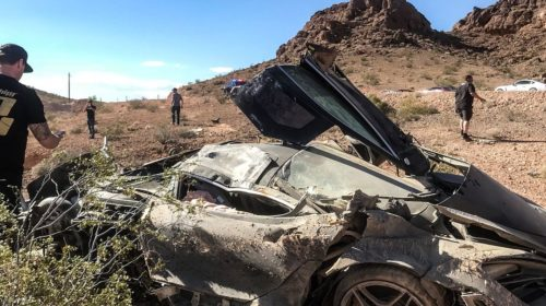 McLaren 720S-crash-Las-Vegas-Corsa-Rally-2018-4