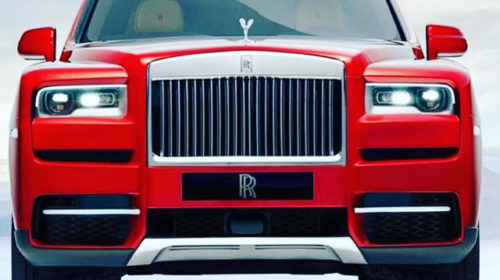 Rolls Royce Cullinan SUV-leaked-image-1