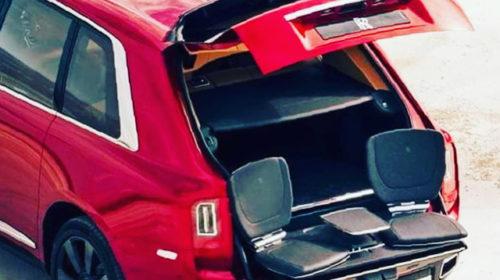 Rolls Royce Cullinan SUV-leaked-image-3