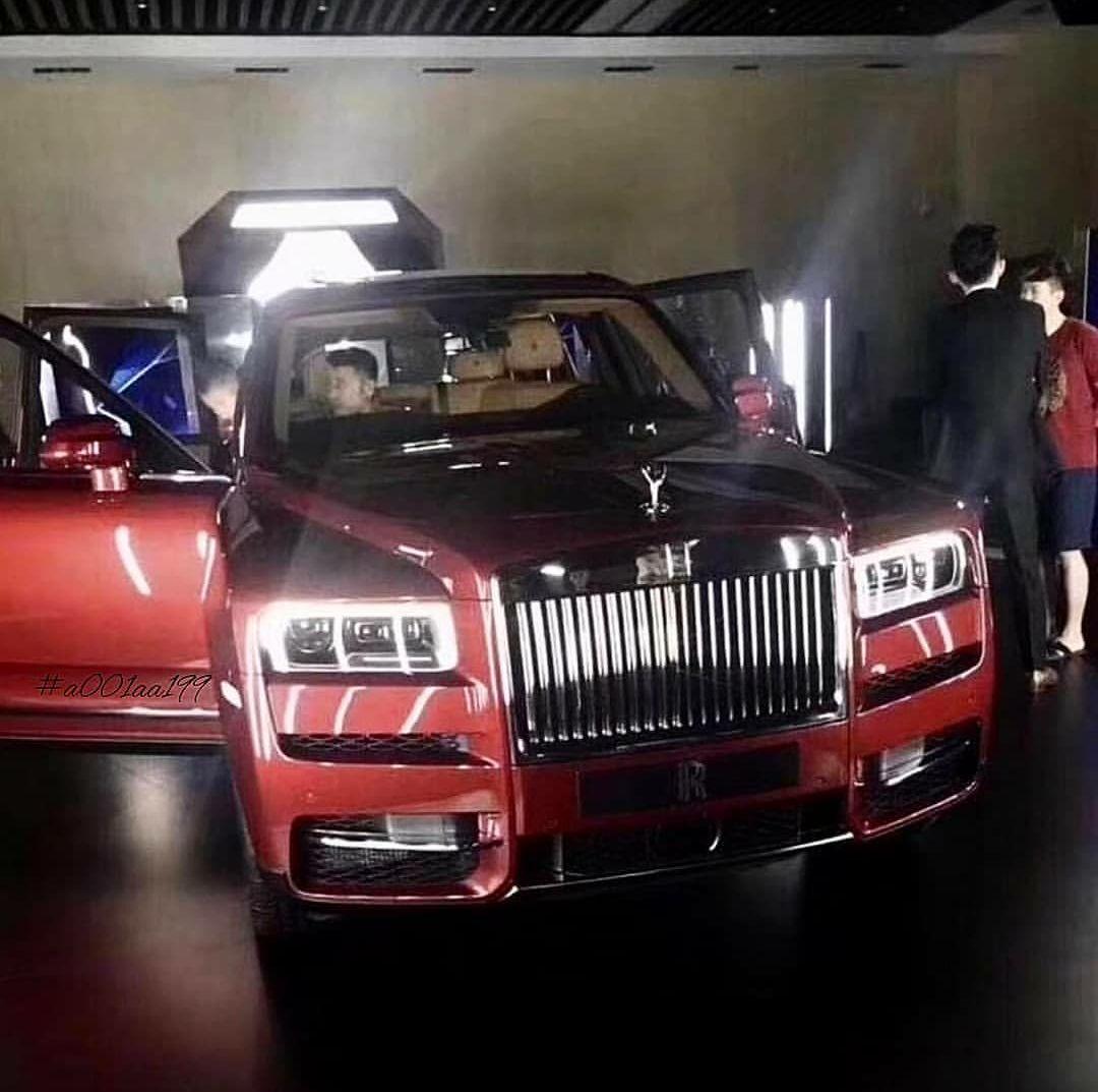 Rolls Royce Cullinan SUV-leaked-image