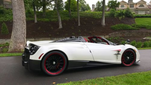 White-Pagani Huayra Roadster-Concorso Ferrari-Friends-Huay-not-2