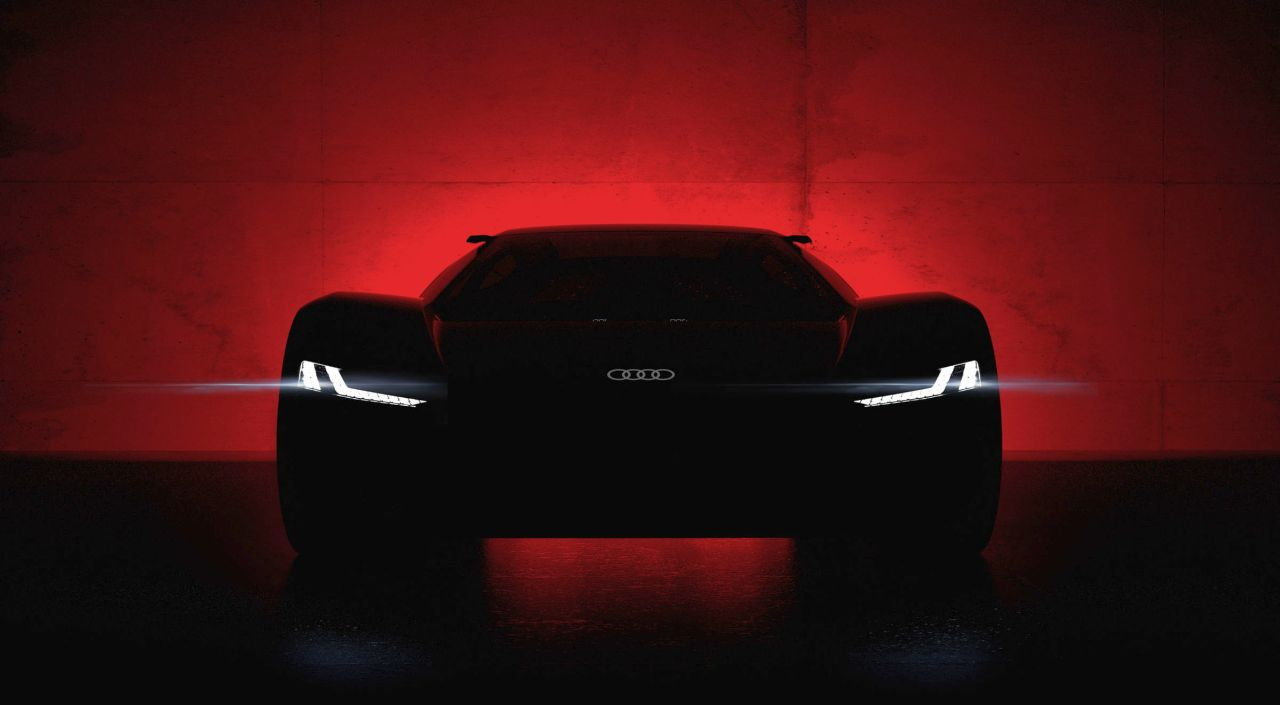 Audi PB18 e-tron-2018-Pebble Beach
