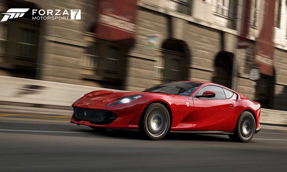 Forza Motorsport 7 Adds the Ferrari 812 Superfast to its Roster