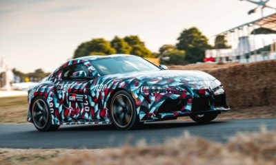 Toyota Supra A90 Goodwood Debut