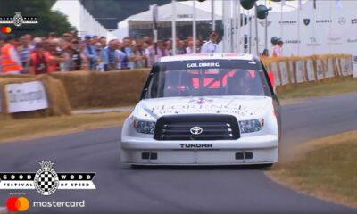Toyota Tundra NASCAR Truck-Bill Goldberg-Goodwood-2018-crash