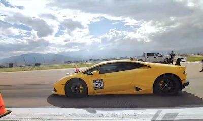 UGR Lamborghini Huracan-half mile speed record-Pikes Peak-2018