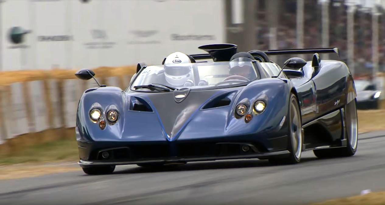 Scoop First Image Of The Top Secret Pagani Zonda R Barchetta The Supercar Blog