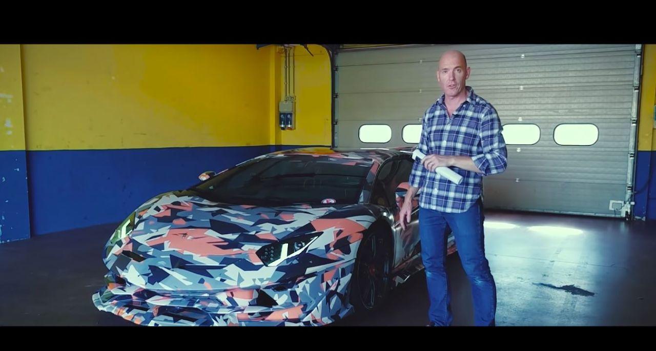 Aventador SVJ-Top Gear