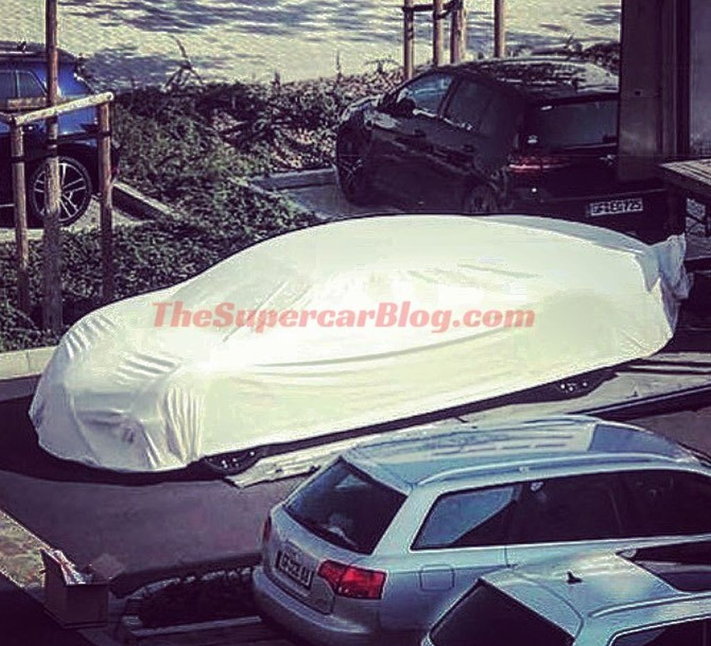 Bugatti 4 door hybrid spy shots scoop Galibier