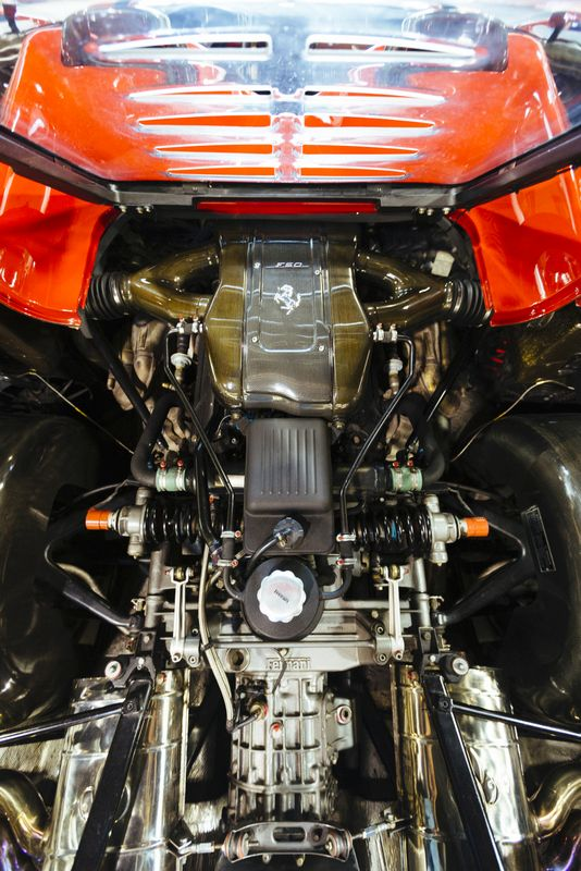 Ferrari F50 Prototype Chassis No 99999 Up For Sale The Supercar