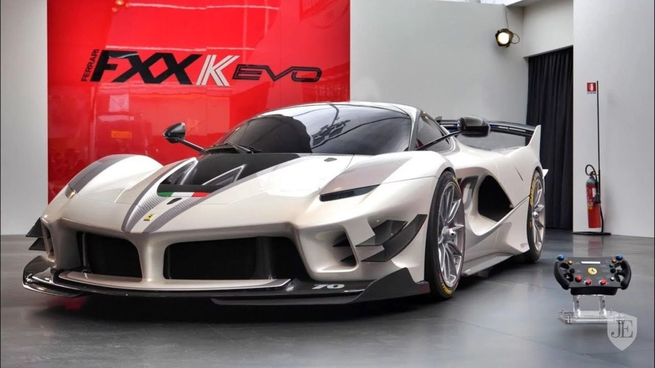 White Ferrari Fxx K Evo Is The First One To Come Up For Sale The Supercar Blog