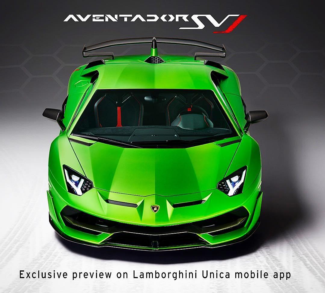 Lamborghini Aventador SVJ Unica App 1