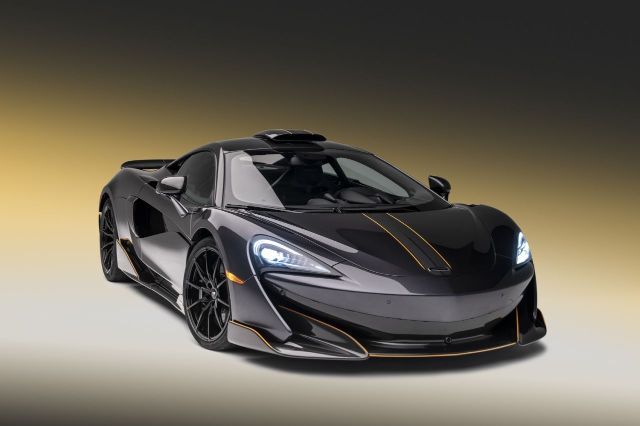 McLaren 600LT Stealth Grey MSO Pebble Beach 2