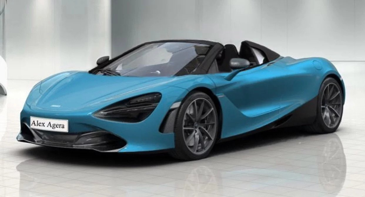 Mclaren 720s Spider To Be Presented This October