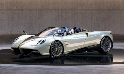 Pagani Huayra Roadster Gyrfalcon Pebble Beach 2018