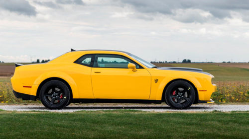 Michael Andretti Dodge Demon Auction