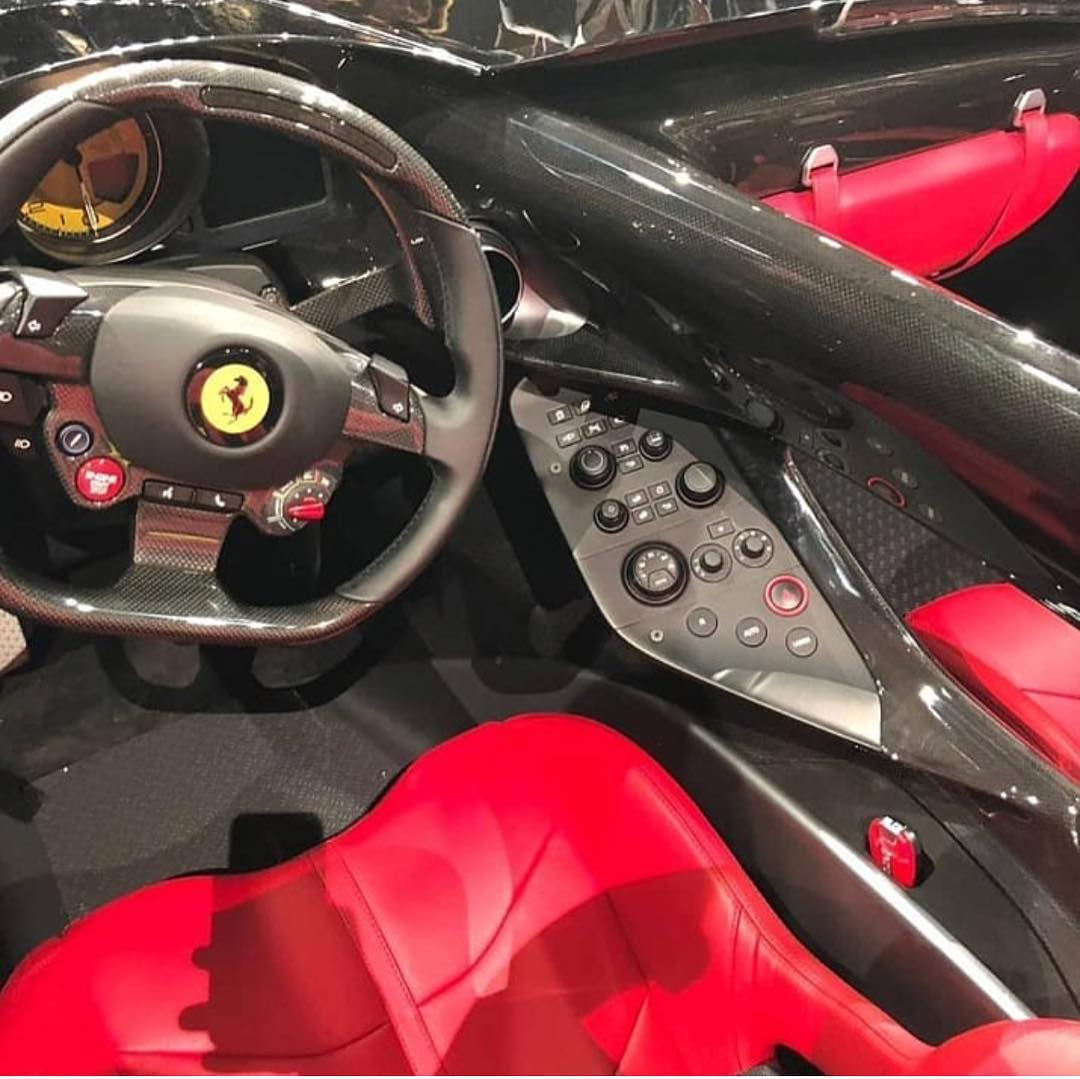 First Images Of The Ferrari Monza Sp1 Sp2 The Supercar Blog