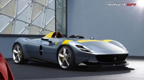 Ferrari Monza SP1 Monoposto 1