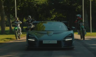 Forza Horizon 4 Mclaren Senna races at Goodwood
