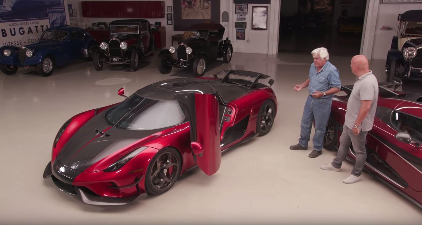 Jay Lenos Garage Koenigsegg Regera