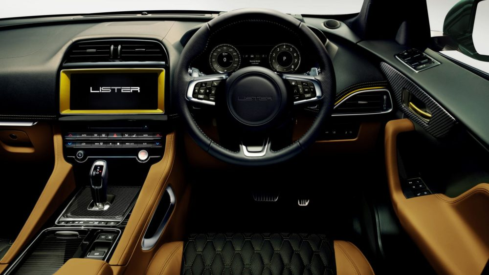 Lister LFP Jaguar F Pace