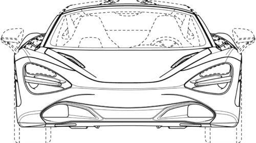 Mclaren 720S Spider Patent Drawings 01