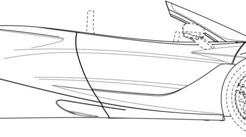 Mclaren 720S Spider Patent Drawings 02
