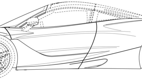 Mclaren 720S Spider Patent Drawings 03