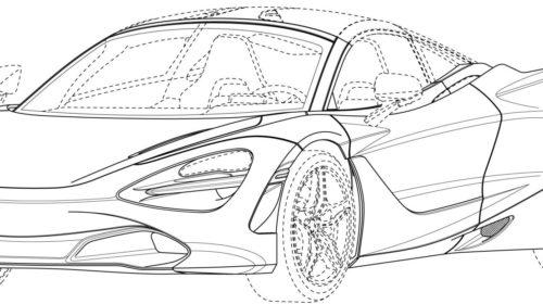 Mclaren 720S Spider Patent Drawings 05