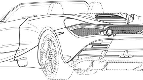 Mclaren 720S Spider Patent Drawings 06