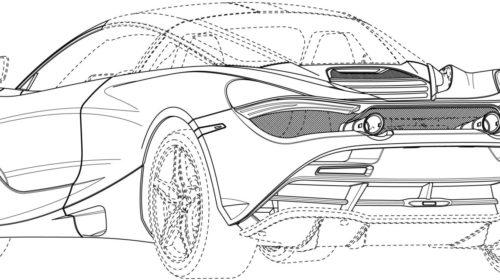 Mclaren 720S Spider Patent Drawings 07