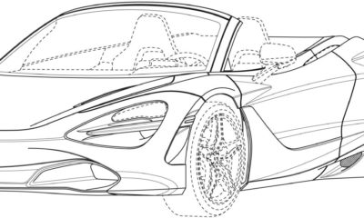 Mclaren 720S Spider Patent Drawings 08