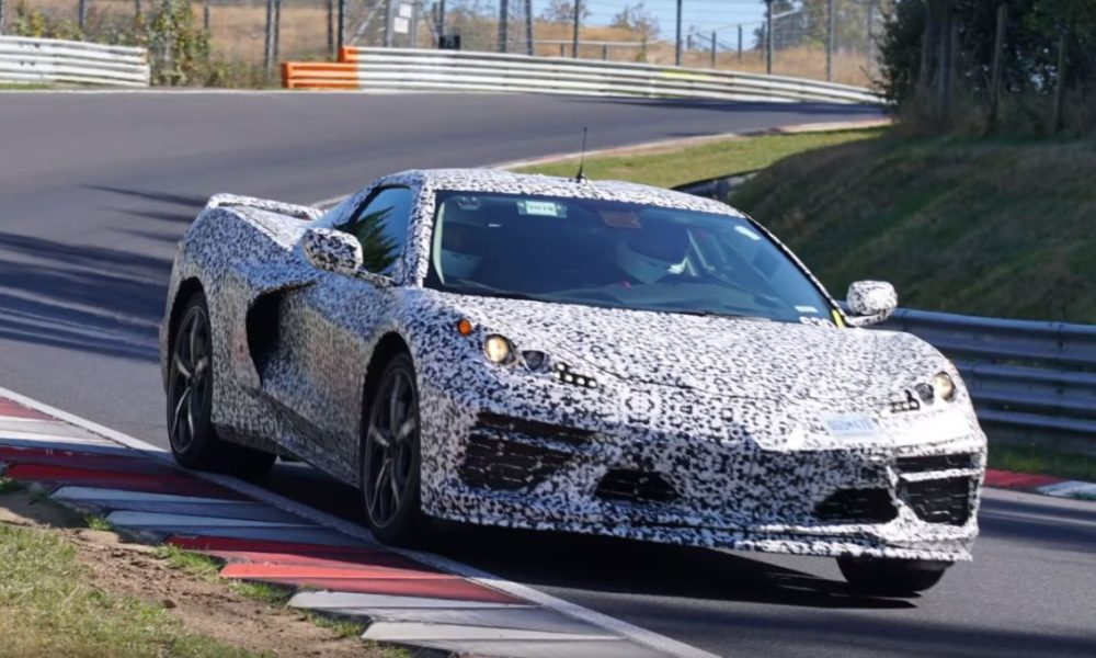 Mid engine C8 Corvette Nurburgring spy shots