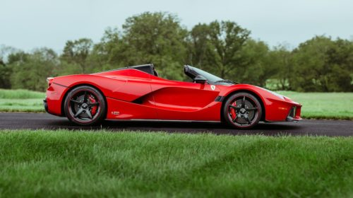 2016 ferrari laferrari aperta kissimmee auction 04
