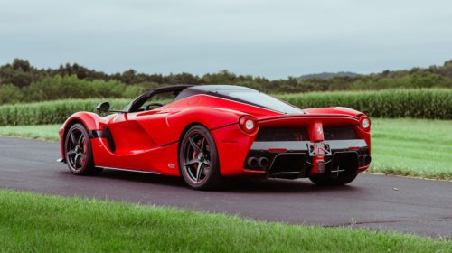 2016 ferrari laferrari aperta kissimmee auction 05