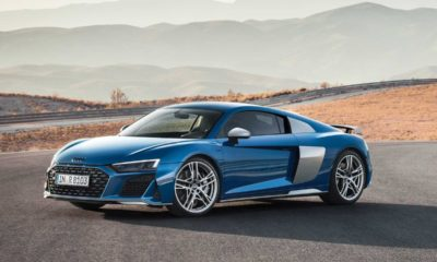 2019 Audi R8 Coupe facelift 1