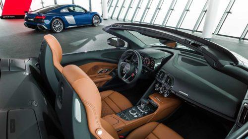 2019 Audi R8 Spyder facelift 2