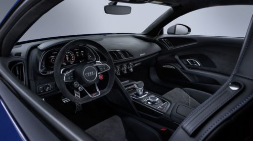 2019 Audi R8 facelift interior 1