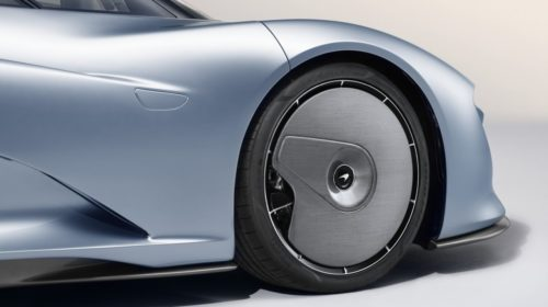 2019 McLaren Speedtail front wheel aero cover